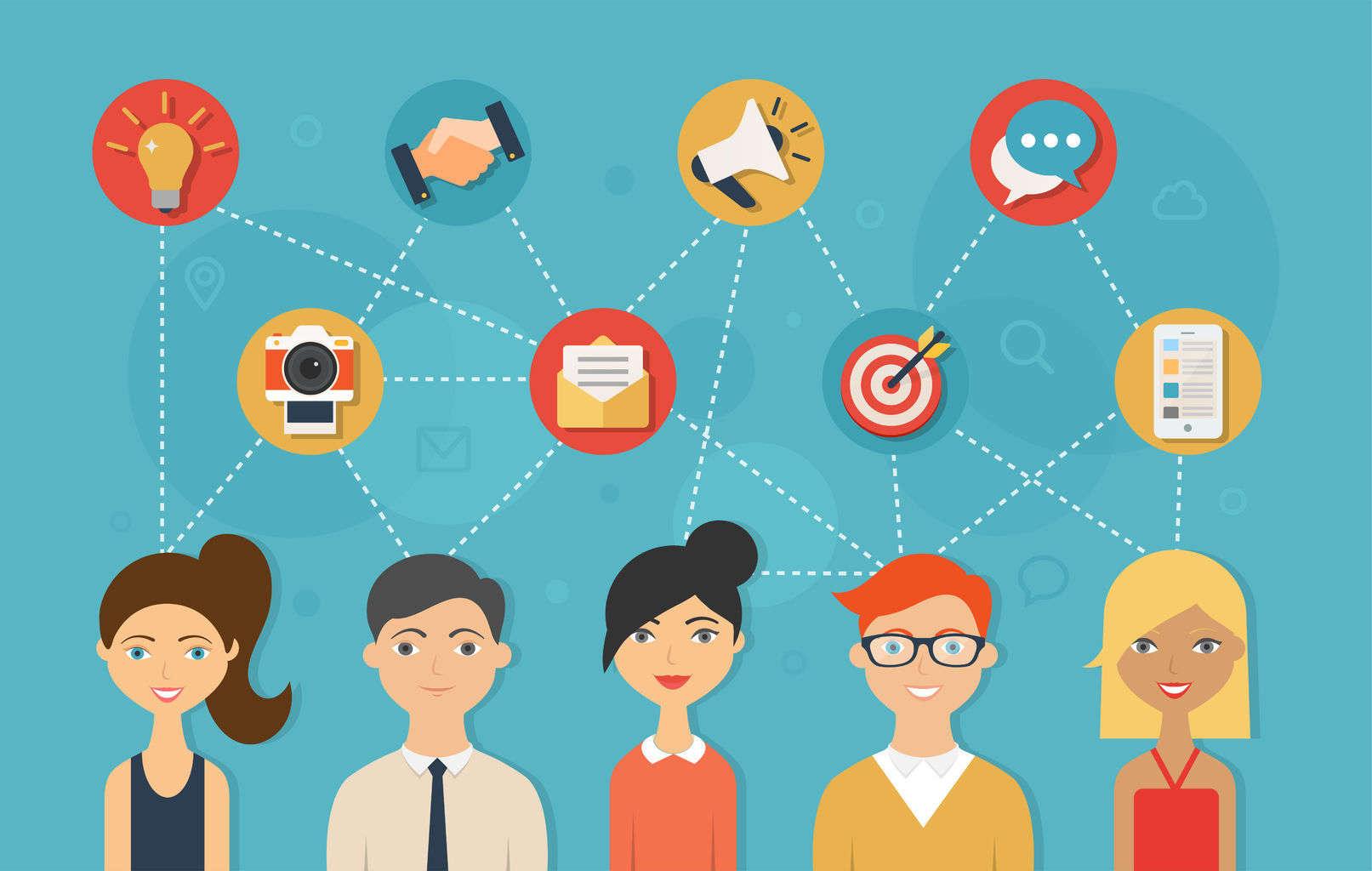 аутсорсинг сообщество в социальных сетях