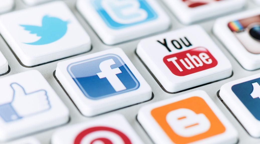 оформление аккаунтов в соцсетях